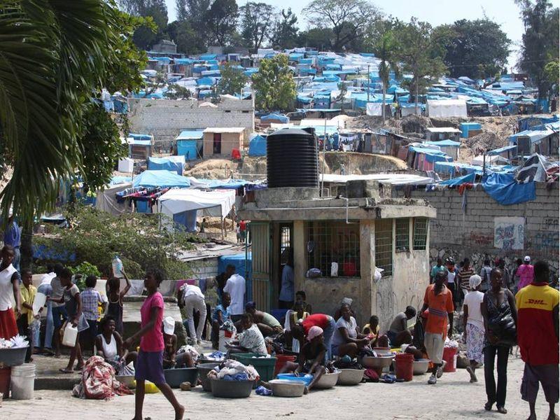 Haiti Crowd