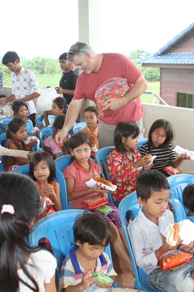 Feeding in cambodia