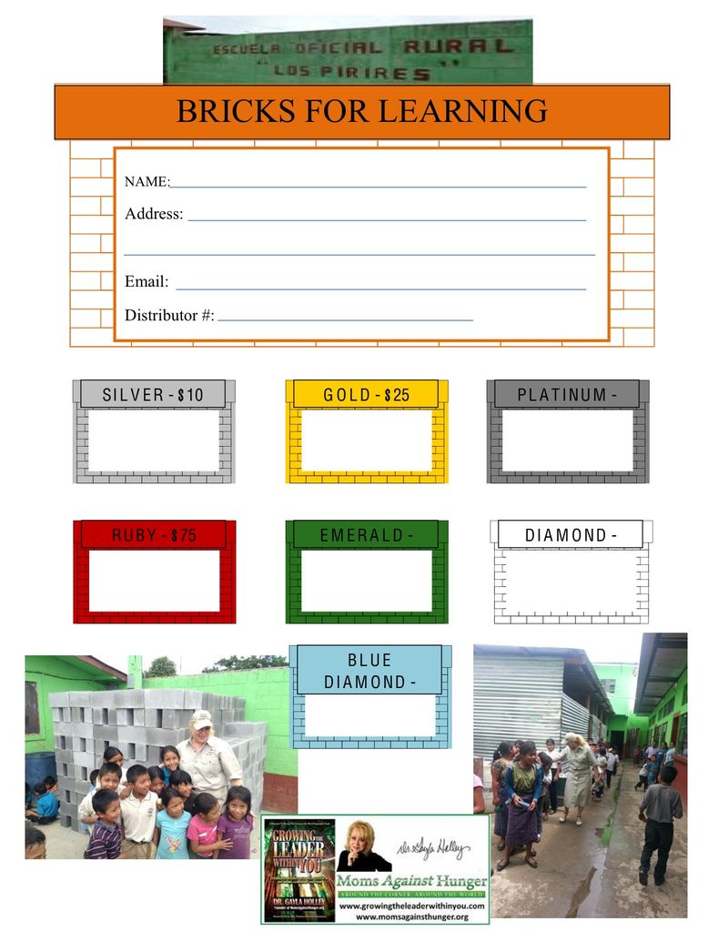 Bricks for Learning Donation Form (3)