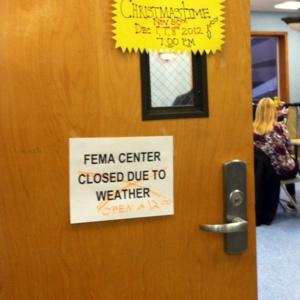 Fema closed